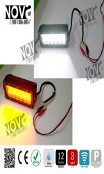 Dual Color LED Light Bar Amber / White