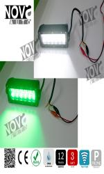 Dual Color LED Light Bar Green / White